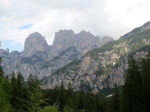 Verso rifugio Pramper montagne