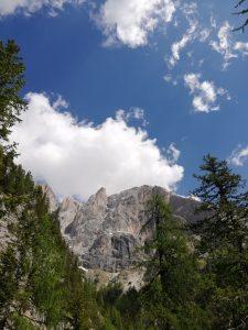 Escursione rifugio Falier panorama